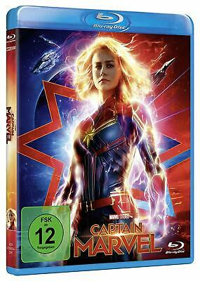 Captain Marvel Blu-Ray Deutsch