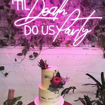 Wedding/ Event/ Commercial/ Home Deco Neon Sign Customization and Rental