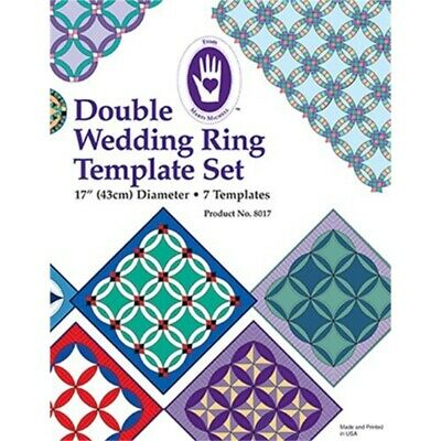 Marti Michell Double Wedding Ring Template Set-