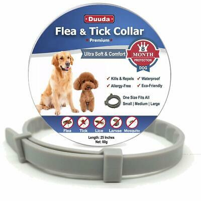 Flea and Tick Collar for Dogs - 8 Months Continuous Flea Protection for Dogs