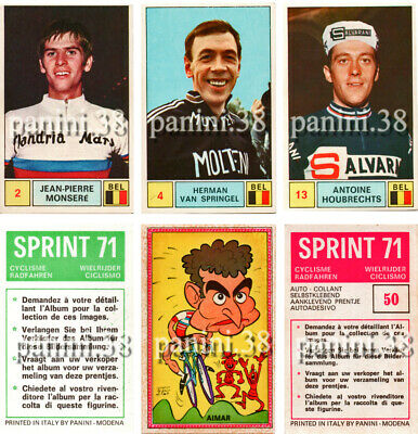 "ULTRA RARE !! Vignettes AU CHOIX ""SPRINT 71"" stickers, figurina PANINI"