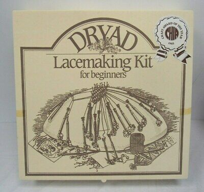 Dryad Lacemaking Kit for Beginners  Craft Award Winner Unused - CFT S18