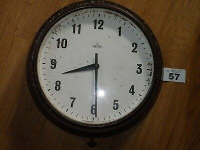 Vintage Bakelite Smiths Wind Up Wall Clock