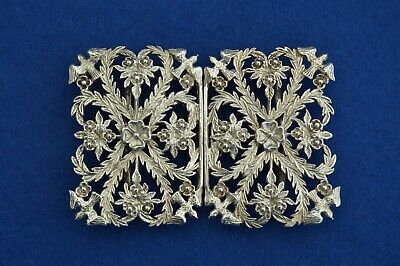 Exceptional Vintage Solid Silver Nurses Belt Buckle - 1996 - call the midwife