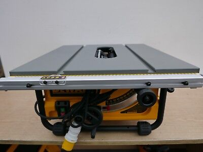 Dewalt Dw745 Table Saw Parts Package   Table Top & Main Unit With 110V Motor