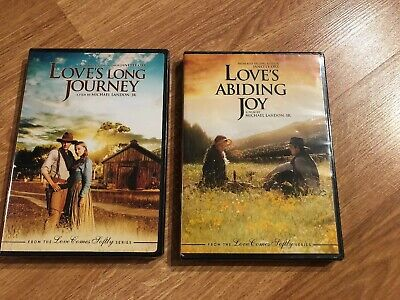 Love's Long Journey and Love's Abiding Joy DVD SEALED NEW