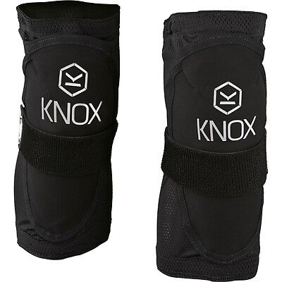 Knox Guerilla Knee Guards CE Armour Motorcycle Protectors Stretch Mesh Non Slip
