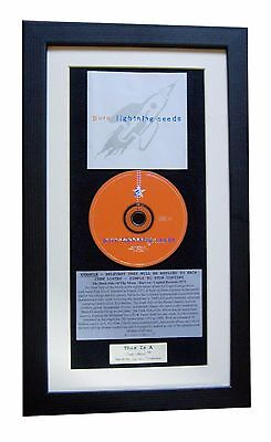 LIGHTNING SEEDS Pure CLASSIC CD Album GALLERY QUALITY FRAMED+EXPRESS GLOBAL SHIP