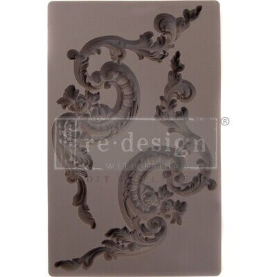 """Redesign Mould 5""""x8""""x12mm-etruscan Accents"""