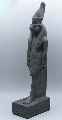 Ancient Egyptian Falcon Bird God Horus Pharaoh Statue Made in Egypt