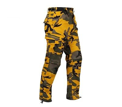 Rothco Stinger Yellow Camouflage BDU Pants - 8875