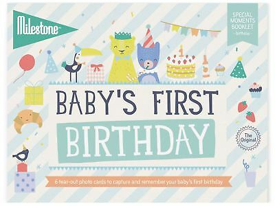 Milestone BABY'S FIRST SPECIAL MOMENTS - BIRTHDAY Baby Gifts BN