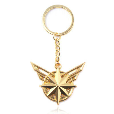 Avengers Endgame Captain Marvel Design Logo Alloy Key Chains Keychain Keyring