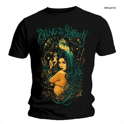 Official T Shirt Bring Me The Horizon  'Forest Girl'  Black All Sizes