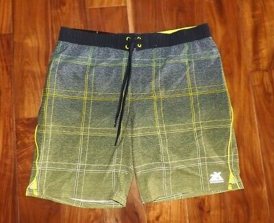 18f34c02a9 NWT Mens ZeroXposur Green Coaster Board Swim Trunks Board Shorts Swimsuit XL