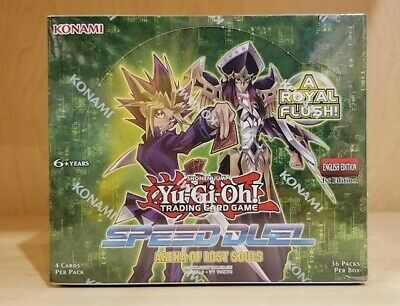 Yugioh Arena of Lost Souls Speed Duel 1st ed Sealed Booster Box Free Shipping
