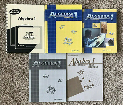 ABEKA ALGEBRA 2 Student Text, Solutions Manual, And Test