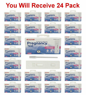 Signal Pregnancy Test Fast Results Early Detection HCG Urine Kit, 24 Tests