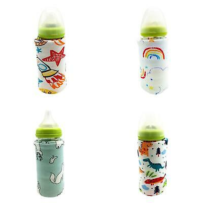 Portable Bottle Warmer Heater Travel Baby Kids Milk Water USB Cover Sleeve Pouch