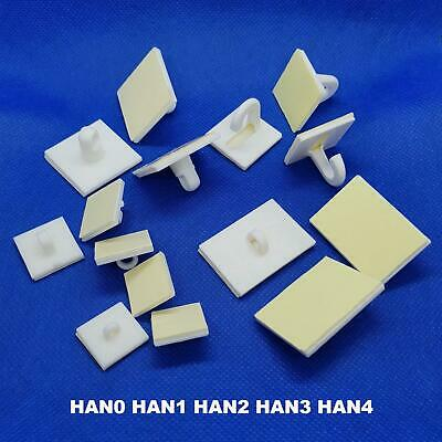 Self Adhesive Hook Sticky Wall Ceiling Hanging Hooks - Packs of 100