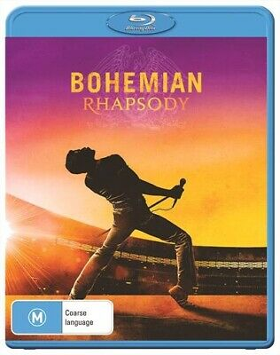 Bohemian Rhapsody (Blu-ray, 2019) ; NEW