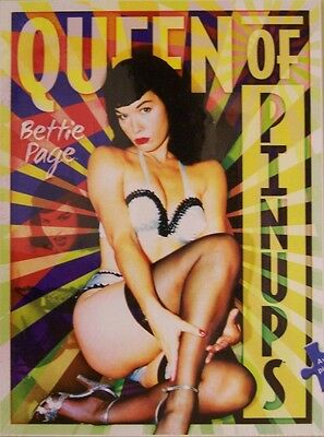 Jigsaw puzzle Entertainment Bettie Page Queen of the Pinups 1000 piece NEW