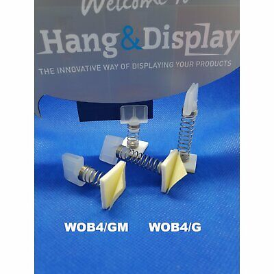 Euro Spring Wobbler with Ticket Holder and Adhesive Pad Pack of 100