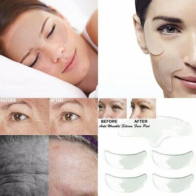 5X Anti Wrinkle Face Forehead Pad Patch Reusable Lifting Invisible Lovely UK