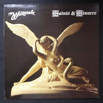 WHITESNAKE Saints An' Sinners LIBERTY Inner 1982 UK Press VINYL LP MERCH FLYER