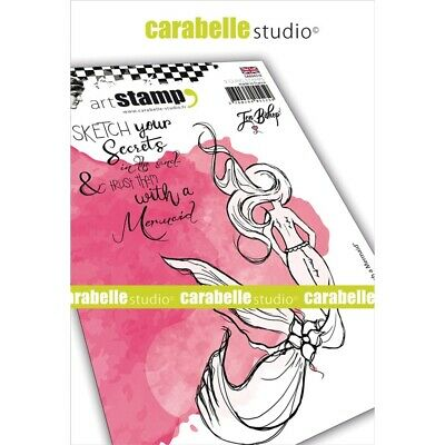 Carabelle Studio Cling Stamp A6-funny Face