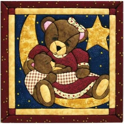 Quilt Magic 12-inch By 12-inch Momma And Baby Bear Kit - Kit12x12 12inch