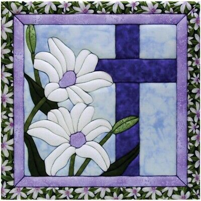 Wholt Magic 12-inch By 12-inch Cross Kit - Quilt Kit12x12