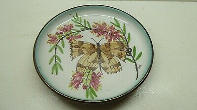 Robert Margot Beck Ceramic Studio Hand Painted Plate Vintage Australian Pottery
