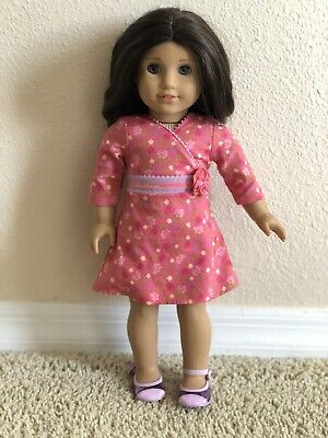 2009 American Girl Doll Chrissa Retired Craft Studio Sewing Sketch Book ONLY