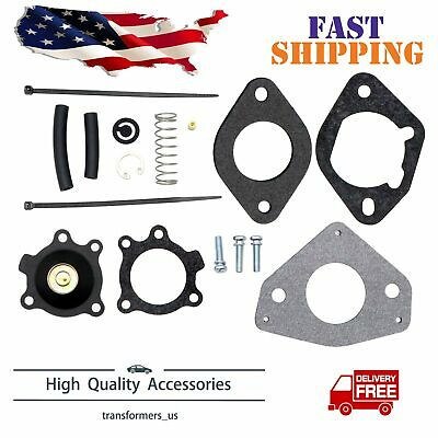 Fit For 24 757 21-S Kohler Acc Pump w/ Gaskets Carburetor Rebuild Repair Kit New