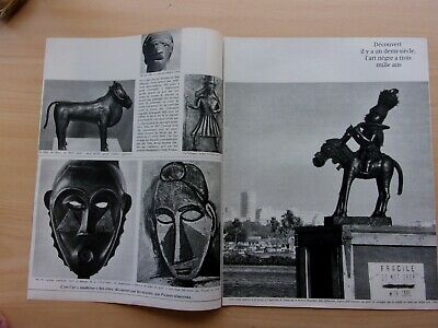 coupures de presse/  L'ART NEGRE/16 pages   / en 1966 / ref.   67773