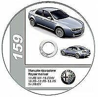 Alfa Romeo 159 Elearn - Manuale Officina Workshop Manual Service Wiring Diagrams