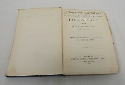 Malory's History of King Arthur and the Quest for the Holy Grail 1886 - CTM B1