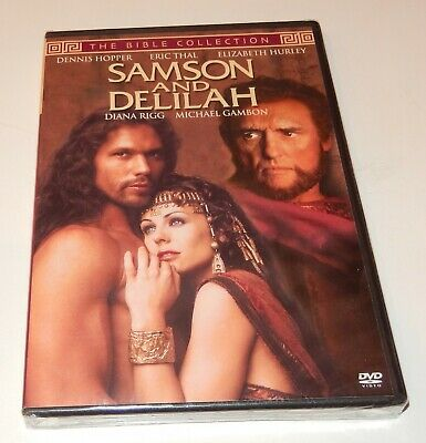 Samson and Delilah  Eric Thal Hurley (DVD, 1996, The Bible Collection) FS  NEW