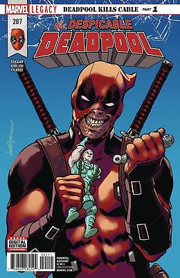 Despicable Deadpool #287 Near Mint First Print Bagged And Boarded