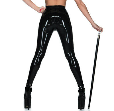 Latex Catsuit Rubber Gummi Classic Sexy Tights Leotard Trousers Customized 0.6mm