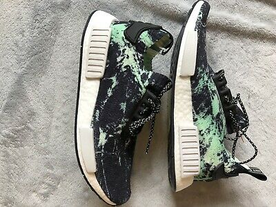 newest aff07 a3d91 Adidas NMD R1 PK Primeknit Nomad Green Marble Flash BB7996 - BRAND NEW IN  BOX!
