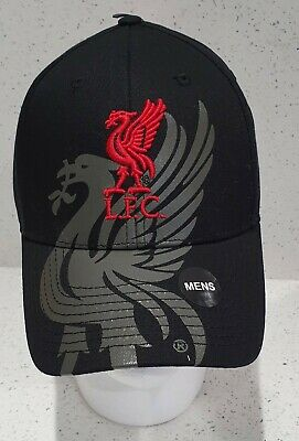Official Liverpool FC Bird Black Baseball Cap - Brand 47