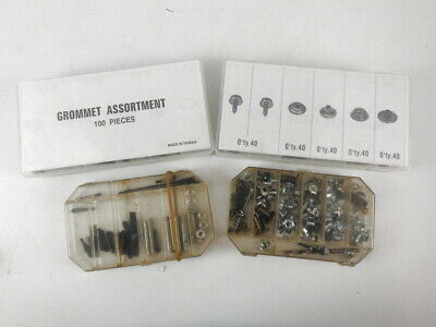 Assorted Lot Of Metal Grommets/Parts Mixed Sizes