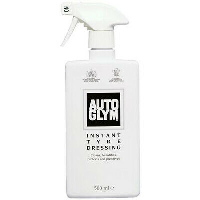Autoglym Car Detailing - Tyre Dressing for Rubber Cleansing and Shine - 500 ml