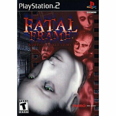 Fatal Frame Sony Playstation 2 PS2 Brand New Factory Sealed, Black Label