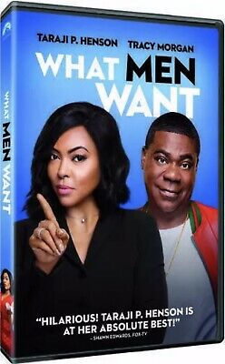 What Men Want [DVD] [2019] NEW-Rom Comedy, Fantasy - PRE-SALE SHIPS ON 05/07/19