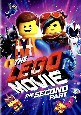 The LEGO Movie 2: The Second Part [DVD] [2019] NEW-  PRE-SALE SHIPS ON 05/07/19