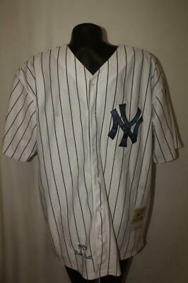 7ac7524fa NEW YORK YANKEES Starter Baseball Jersey Mens medium   M blue ...