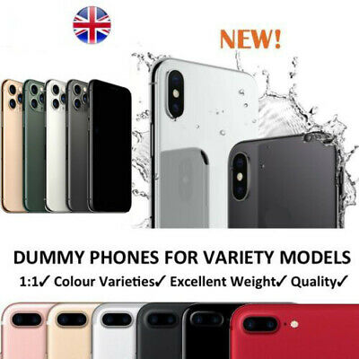 1:1 Non-Working Dummy Display Toy Fake Model Phone For iPhone 8 Plus X XS MAX XR